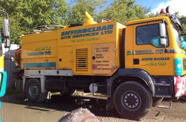 SPH Plant recently purchased this 4×4 Super Jet-Vac